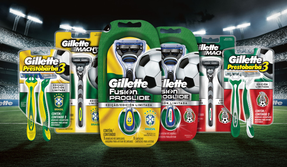 Gillette Global Futbol countries_web test
