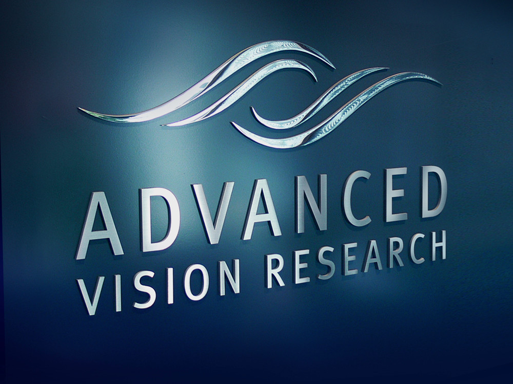 Advanced Vision Research Signage